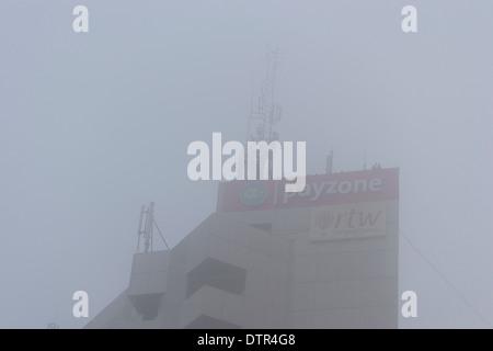 Telecom masts - Stock Photo