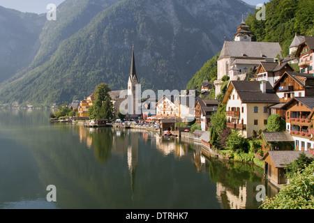Hallstatt, the most beautiful lake town in the world, Austria.