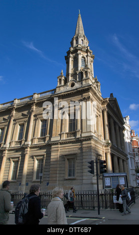 The Hinde Street Methodist Church, Thayer Street, Marylebone, London, England, UK, Europe - Stock Photo