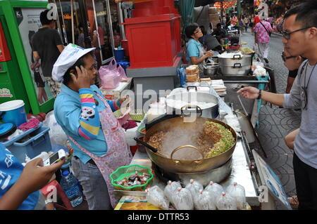 streetfood in bangkok,thailand - Stock Photo