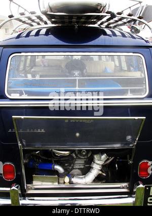 VW Camper Van - Stock Photo