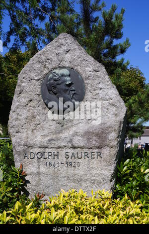 adolph saurer memorial,arbon,switzerland