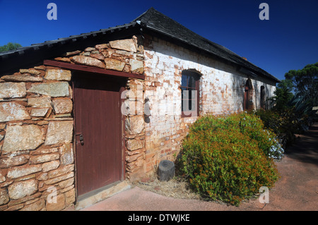 Historic inn kitchen at Arthur River, one of the oldest buildings still standing in the wheatbelt of Western Australia - Stock Photo