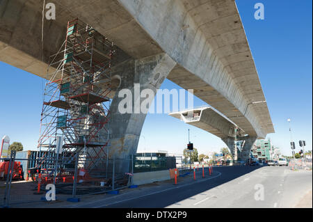 road under reconstruction - Stock Photo