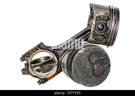 Two pistons and connecting rods - Stock Photo