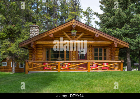 A Cottage In The Woods At Alpine Village Resort Jasper Alberta Canada