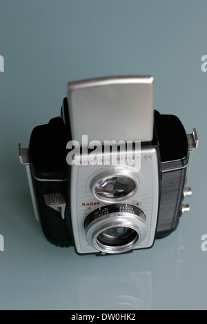 Kodak camera brownie reflex 20 - Stock Photo