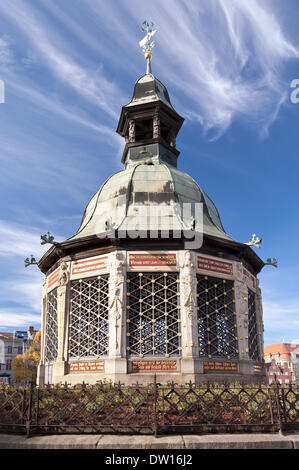 Old town of Wismar in Germany - Stock Photo