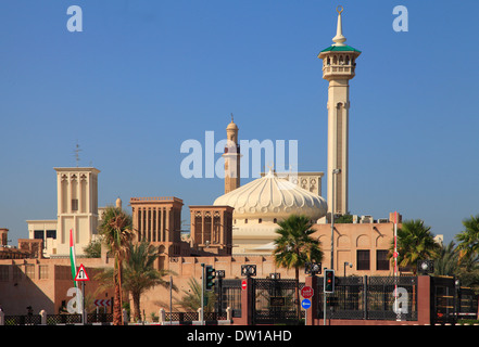United Arab Emirates, Dubai, Bastakia Quarter, Ruler's Court, - Stock Photo