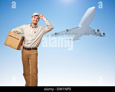 fast air delivery - Stock Photo