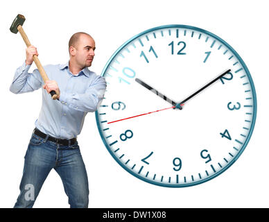 stop the time - Stock Photo