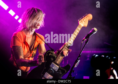 Brody Dalle first solo intimate gig in London NME - Stock Photo