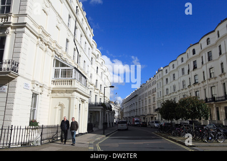united kingdom london royal borough of kensington and chelsea prince's square w2 - Stock Photo