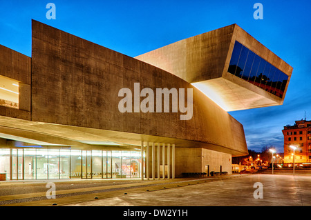 MAXXI – National Museum of the 21st Century Arts, Rome Italy - Stock Photo