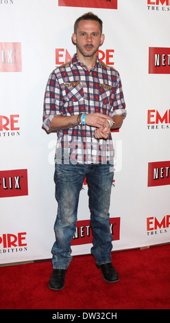 Dominic Monaghan Empire Magazine the launch celebration of Empire U.S. for iPad at Sunset Tower West Hollywood, - Stock Photo