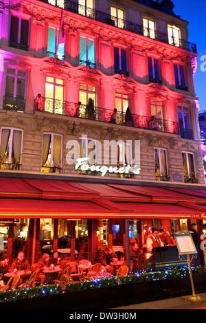 restaurant avenue des champs elysees 8th arrondissement paris stock photo royalty free image. Black Bedroom Furniture Sets. Home Design Ideas