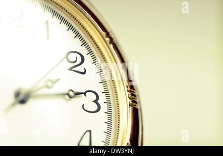 Old styled gold pocket watch - Stock Photo