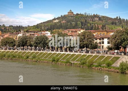 Santuario della Madonna di Lourdes, Verona - Stock Photo