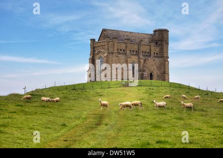 St Catherine's Chapel Abbotsbury - Stock Photo