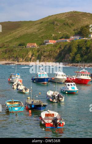 fisher boats  Rozel - Stock Photo