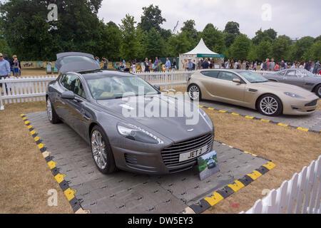 Aston Martin Bertone Jet 2 +2 (2013), Aston Martin Timeline, Centenary Celebration 2013, 100 years Aston Martin, - Stock Photo