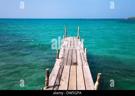 beautiful beach on Koh Kood island, Thailand - Stock Photo