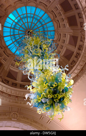 ... Suspended Glass Sculpture At The Victoria U0026 Albert Museum, London    Stock Photo