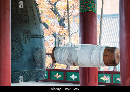 Bongeunsa Temple in Seoul, South Korea. - Stock Photo