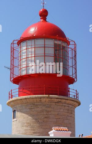 Lighthouse Cabo de Sao Vicente Algarve Portugal