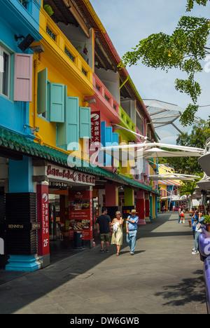 Clarke Quay, Singapore - Stock Photo
