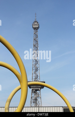 The Funkturm in Berlin, Charlottenburg - Stock Photo