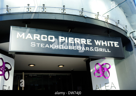 Marco Pierre White ,Steakhouse Bar and Grill,Wollaton Street,Nottingham,UK. - Stock Photo