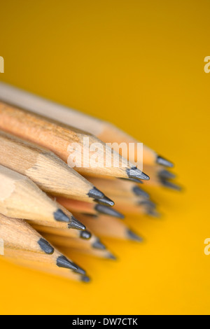 Wooden pencils, still life - Stock Photo