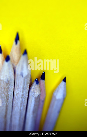 Wooden pencils - Stock Photo