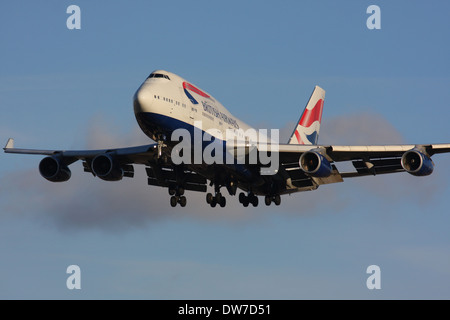 BA BRITISH AIRWAYS BOEING 747 - Stock Photo
