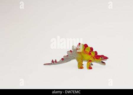 Small Toy dinosaur Figurine - Stock Photo
