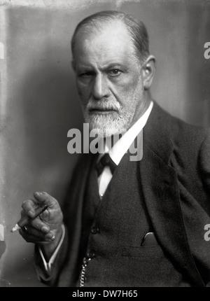 Sigmund Freud - Stock Photo