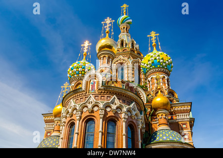 Church of the Savior on Spilled Blood - Stock Photo