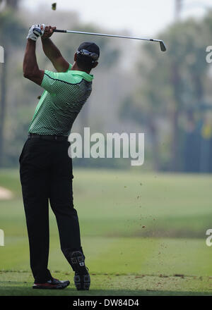 Florida, USA. 28th Feb, 2014. during the Second Round of The Honda Classic at the PGA national Champion Course, - Stock Photo