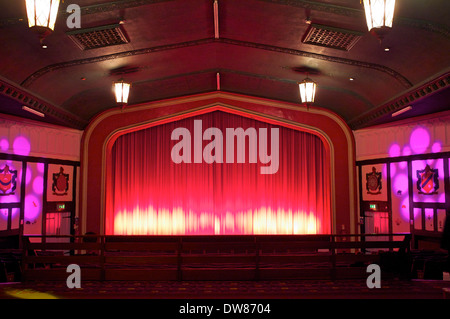An old fashioned cinema at Faversham - Stock Photo