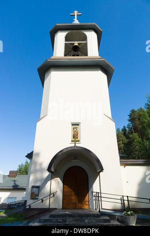 LAHTI, FINLAND - JUNE 10: Holy Trinity Church. The Orthodox Church, June 10, 2013 in Lahti, Finland - Stock Photo
