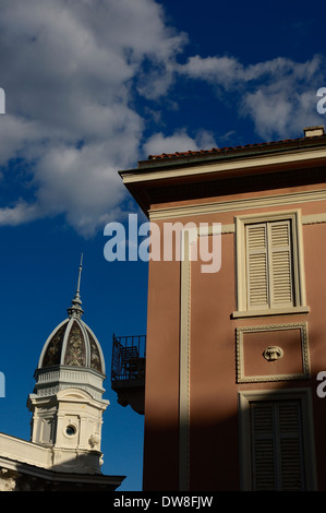 The domed roof of the Casino Admiral. Opatija,The Kvarner Riviera. Croatia - Stock Photo