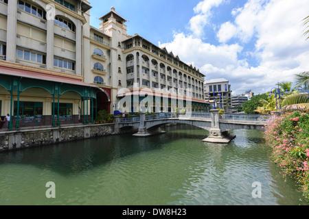The Caudan Waterfront Port Louis Mauritius - Stock Photo