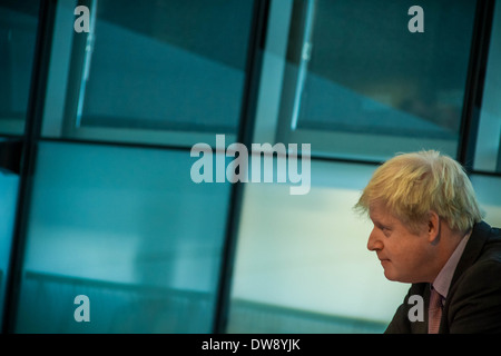London Mayor Boris Johnson Question Time at City Hall - Stock Photo
