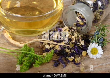 Prostate tea - Stock Photo