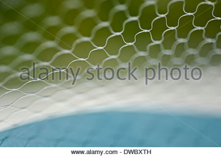 Selective focus of wire mesh - Stock Photo