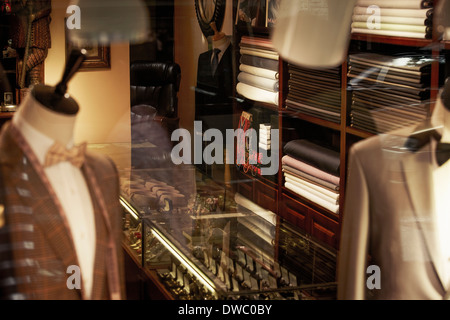 Traditional tailors shop interior - Stock Photo