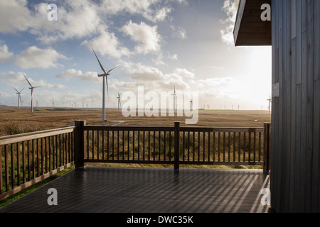 ScottishPower Whitelee wind farm, Eaglesham moor, Ayrshire. - Stock Photo
