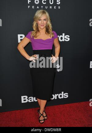 Los Angeles, CA, USA. 5th Mar, 2014. Rachael Harris at arrivals for BAD WORDS Premiere, The Cinerama Dome at Arclight - Stock Photo