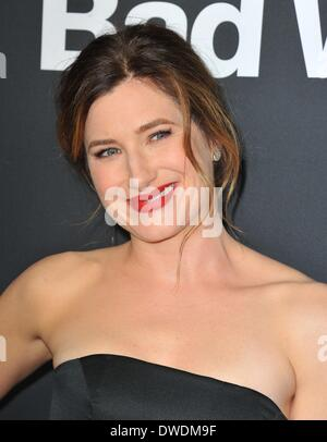 Los Angeles, CA, USA. 5th Mar, 2014. Kathryn Hahn at arrivals for BAD WORDS Premiere, The Cinerama Dome at Arclight - Stock Photo